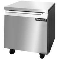 Continental Refrigerator SWF32 32 inch Undercounter Freezer - 9 cu. ft.
