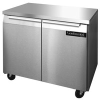 Continental Refrigerator SWF36 36 inch Undercounter Freezer - 10.3 Cu. Ft.