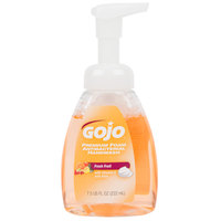 GOJO® 5710-06 Premium 7.5 oz. Fresh Fruit Foaming Antibacterial Hand Soap with Pump - 6/Case