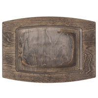 Lodge UCPU 14 inch x 10 inch Walnut Stain Wood Underliner