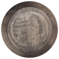 Lodge U6RP 10 inch Round Walnut Stain Wood Underliner