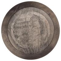 Lodge U6RP 10 inch Round Walnut Stain Wood Underliner