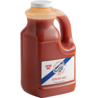Crystal 1 Gallon Extra Hot Sauce - 4/Case