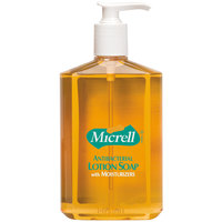 Micrell® 9759-12 12 oz. Floral Antibacterial Lotion Hand Soap with PCMX and Pump - 12/Case