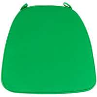 Lancaster Table & Seating Emerald Green Chiavari Chair Cushion - 1 3/4 inch Thick
