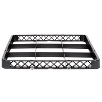 Noble Products 9-Compartment Black Full-Size Glass Rack Rack Extender