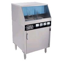 CMA Dishmachines GL-C Low Temperature Chemical Sanitizing Undercounter Glass Washer