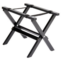 Tablecraft RTT21BK 9 1/4 inch Mini Table Tray Stand with Black Finish