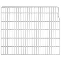 Turbo Air P0178Q0110 Right White Coated Wire Shelf - 22 1/2 inch x 23 inch