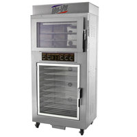 NU-VU QB-3/9 Double Deck Electric Oven Proofer Combo - 120/240V, 1 Phase, 5.1 kW