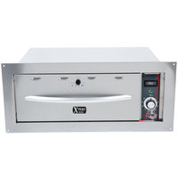 APW Wyott HDDSi-2B Slimline Built-In 2 Drawer Warmer - 120V