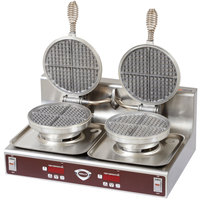 Wells WB-2E Double Waffle Maker - 120V