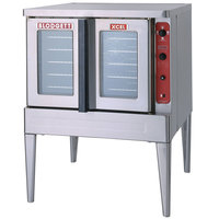 Blodgett Mark V-100 Premium Series Single Deck Full Size Electric Convection Oven - 11 kW