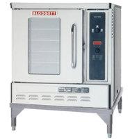 Blodgett DFG-50 Premium Series Liquid Propane Single Deck Additional Unit Half Size Convection Oven - 27,500 BTU