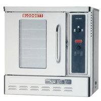 Blodgett DFG-50 Premium Series Natural Gas Replacement Single Deck Base Unit Half Size Convection Oven - 27,000 BTU
