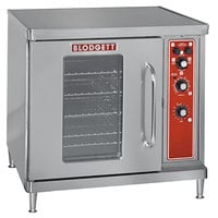 Blodgett CTB Premium Series Single Deck Half Size Electric Convection Oven with Left-Hinged Door - 220-240V, 3 Phase, 5.6 kW