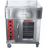 Blodgett CTBR-G Electric Range with 30 inch Griddle Top and Convection Oven Base with Right-Hinged Door - 240V, 3 Phase, 17.6 kW
