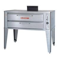 Blodgett 961 Natural Gas Single Deck Oven with Draft Diverter - 37,000 BTU