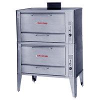 Blodgett 966 Liquid Propane Double Deck Oven with Draft Diverter - 100,000 BTU