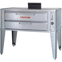 Blodgett 911P Liquid Propane Compact Single Pizza Deck Oven with Draft Diverter - 27,000 BTU