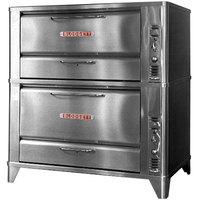Blodgett 951/966 Liquid Propane Double Deck Oven with Vent Kit - 88,000 BTU