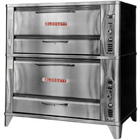Blodgett 961/966 Natural Gas Double Deck Oven with Vent Kit - 87,000 BTU