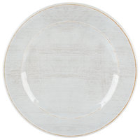 Carlisle 6400706 Grove 7 inch Buff Round Melamine Bread and Butter Plate - 12/Case