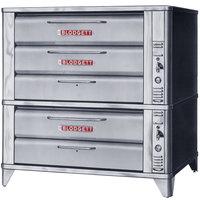 Blodgett 981/961 Liquid Propane Double Deck Oven with Vent Kit - 87,000 BTU