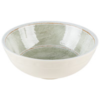 Carlisle 6400546 Grove 17 oz. Jade Small Melamine Bowl - 12/Case