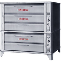 Blodgett 981/961 Natural Gas Double Deck Oven with Vent Kit - 87,000 BTU