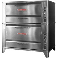 Blodgett 951/966 Natural Gas Double Deck Oven with Vent Kit - 88,000 BTU