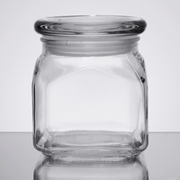 Anchor Hocking 85975 Emma 10 oz. Glass Jar with Lid   - 4/Case