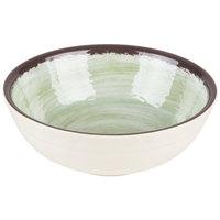 Carlisle 5400546 Mingle 17 oz. Jade Small Melamine Bowl - 12/Case
