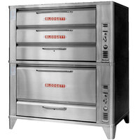 Blodgett 981/966 Gas Double Deck Oven with Vent Kit - 100,000 BTU