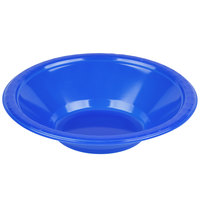 Creative Converting 28314751 12 oz. Cobalt Blue Plastic Bowl   - 20/Pack