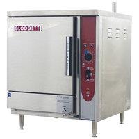 Blodgett SBF-3E 3 Pan Boiler Free Electric Countertop Steamer - 9 kW