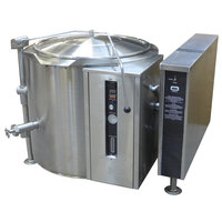 Blodgett KLT-20G Natural Gas 20 Gallon Tilting Quad-Leg Gas Steam Jacketed Kettle - 80,000 BTU