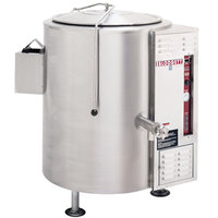 Blodgett KLS-40G Natural Gas 40 Gallon Stationary Tri-Leg Steam Jacketed Kettle - 100,000 BTU