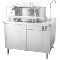 Blodgett KCH-60DS 60 Gallon Hydraulic Tilting Steam Jacketed Direct Steam Kettle with 42 inch Cabinet Base