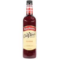 DaVinci Gourmet 750 mL Classic Raspberry Flavoring / Fruit Syrup