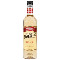 DaVinci Gourmet 750 mL Classic Original Hazelnut Flavoring Syrup