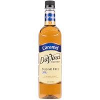 DaVinci Gourmet 750 mL Sugar Free Classic Caramel Flavoring Syrup