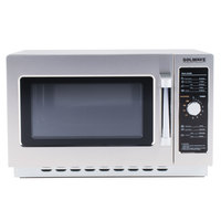 Solwave Stackable Commercial Microwave with Dial Controls - 120V