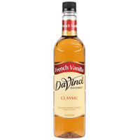 DaVinci Gourmet 750 mL Classic French Vanilla Flavoring Syrup