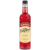 DaVinci Gourmet 750 mL Classic Strawberry Flavoring / Fruit Syrup