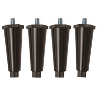 Hatco FDWD-LEGS 4 inch Adjustable Legs - 4/Set