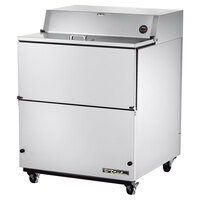 True TMC-34-S 34 inch Stainless Steel One Sided Milk Cooler