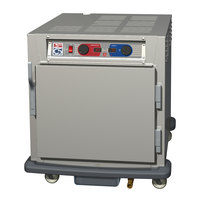 Metro C593L-NFS-U C5 9 Series Undercounter Heated Holding and Proofing Cabinet - Solid Door