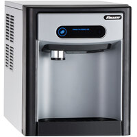 Follett 7CI100A-NW-CF-ST-00 7 Series 14 5/8 inch Air Cooled Chewblet Countertop Ice Maker and Dispenser with Filter - 7 lb.