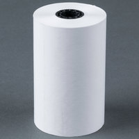 3 1/8 inch x 110' Thermal Cash Register POS Paper Roll Tape - 50/Case